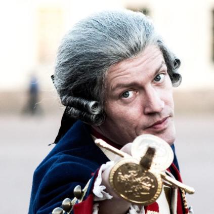 """Fitz van Thom als Georg Friedrich von Manstein (""""Katharina die Große"""", RU 2015"""