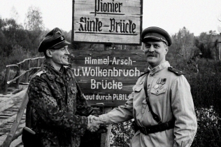 "Obersturmbannführer Koch mit General Bellevich, ""Edinichka"", 2015"